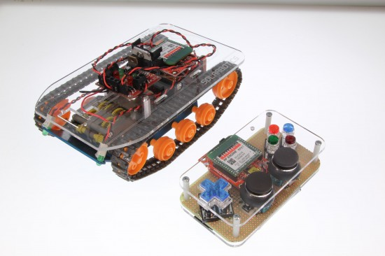 How to Build Your Own RC Tankbot