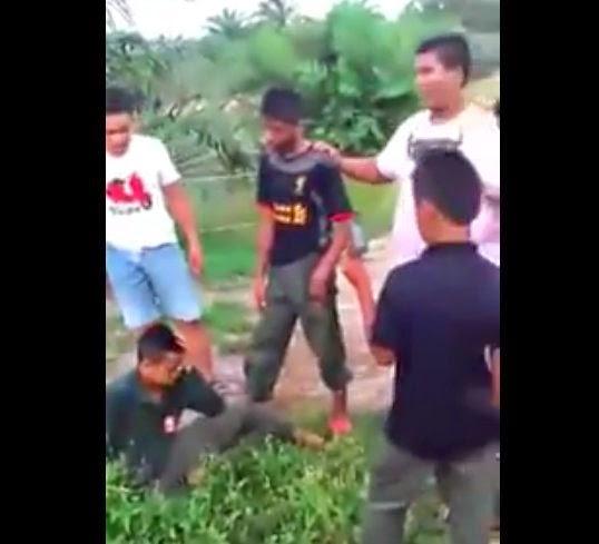 4 remaja ditahan bagi siasat video pukul buli
