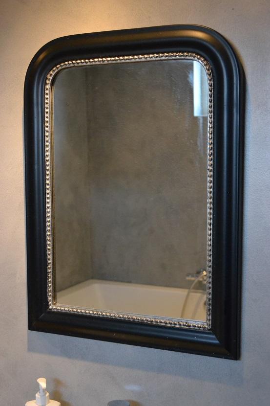 Badkamer Douchen In Bad ~   muren kiezen Vloer tegels cement ceramica sort badkamer en toilet