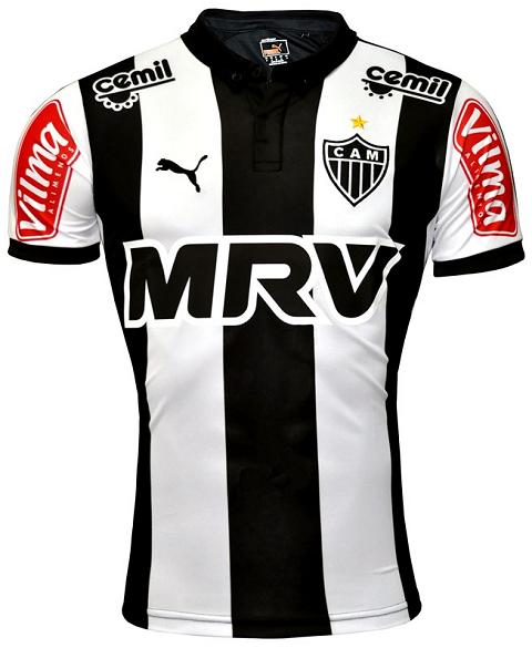 Puma Lanca Novas Camisas Do Atletico Mineiro Show De Camisas
