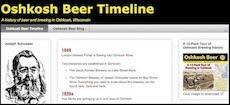 Oshkosh Beer History