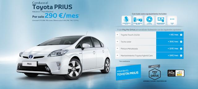 Toyota Prius del año
