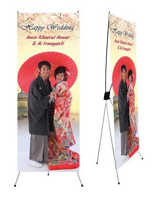 sample standing banner