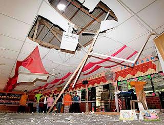 14 Murid, Guru SK Chuping Cedera Terkena Bongkah Batu Kuari
