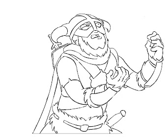 #9 The Elder Scrolls Coloring Page