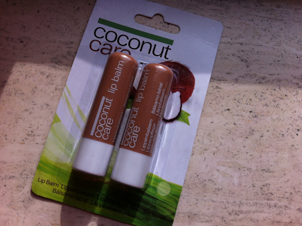 Coconut care lip balms.