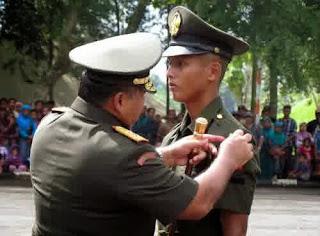 Pangdam IV Diponegoro Lantik 321 Lulusan Secata