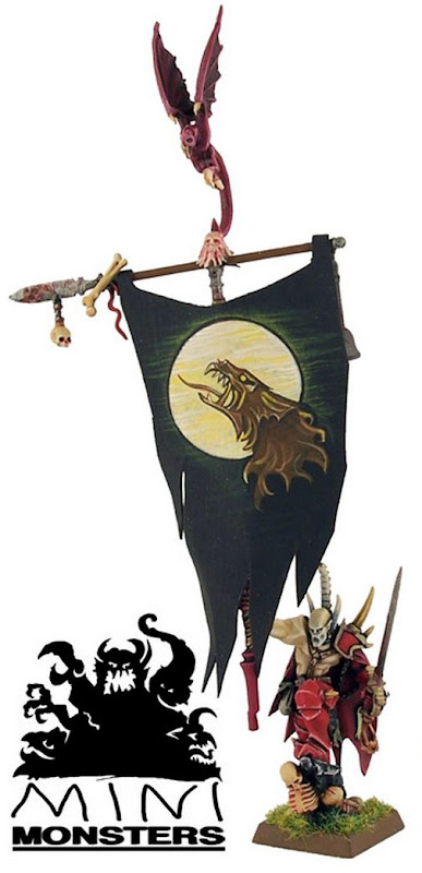 Painted Vampire Counts banner