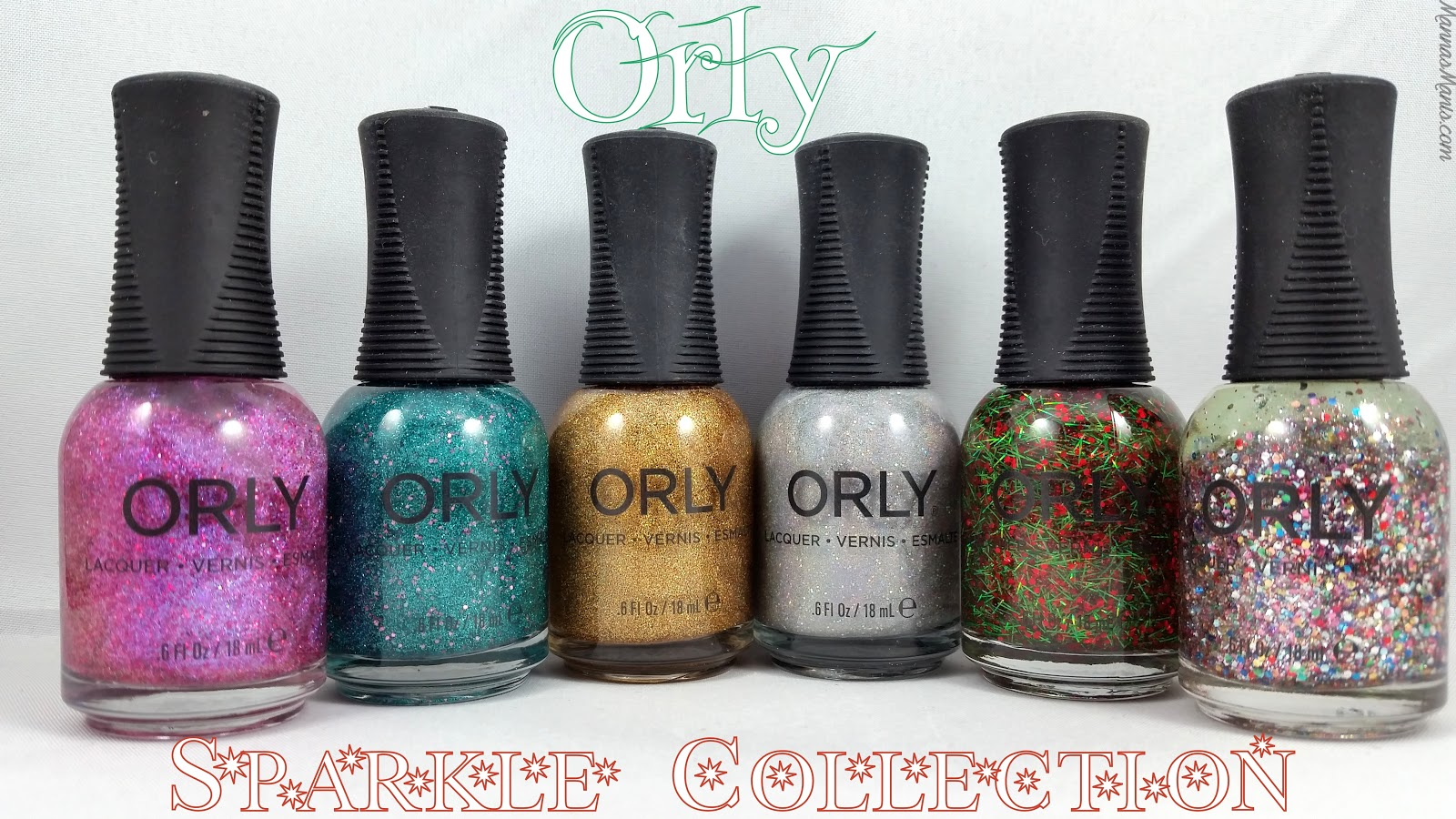 orly sparkle collection