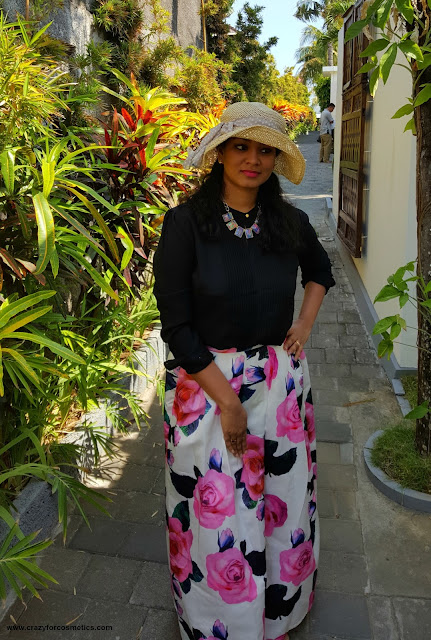 Styling a floral skirt