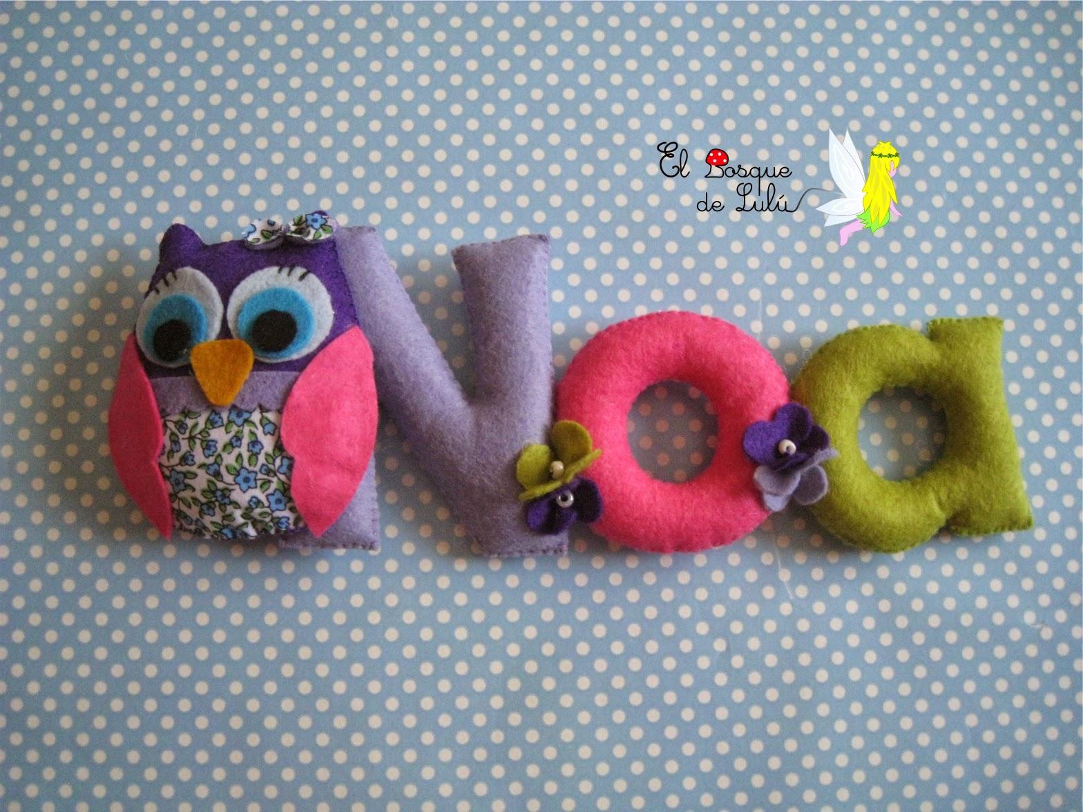 nombre-decorativo-fieltro-Noa-decoración-infantil-detalle-nacimiento-name-banner