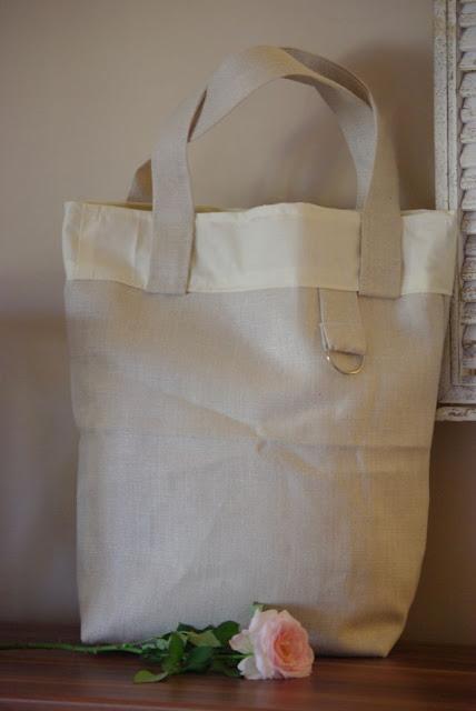 lniana torba, len na torbę, torba rękodzieło, torba na zakupy