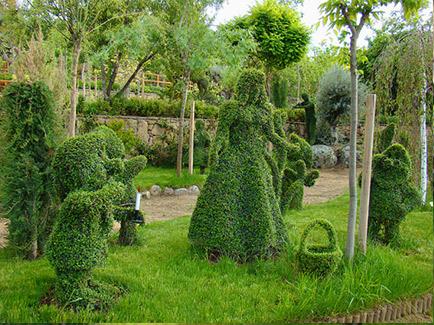 Un jardín botánico de cuento de hadas