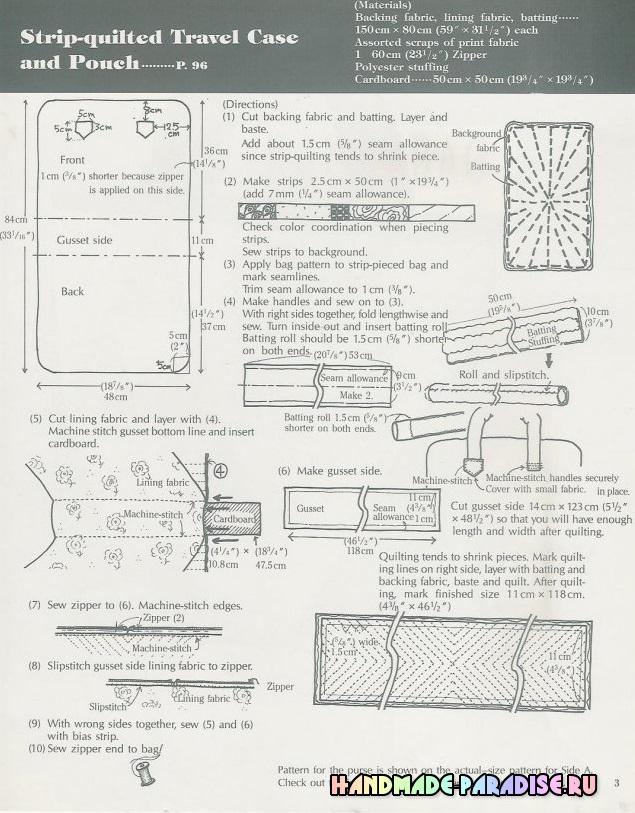 Сумки в технике пэчворк. Японский журнал