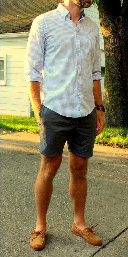 Men's Short Street Fashion Styles 2014