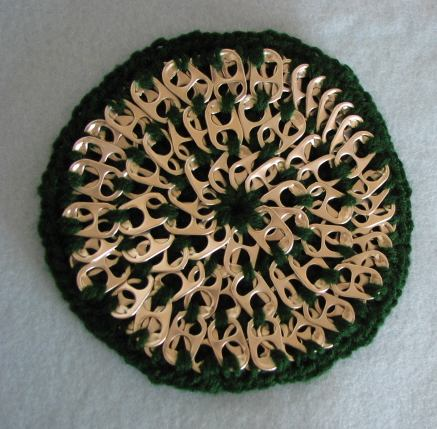 Crocheting With Pop Tabs : Donnas Crochet Designs Blog of Free Patterns: Free Pop Tab Crochet ...