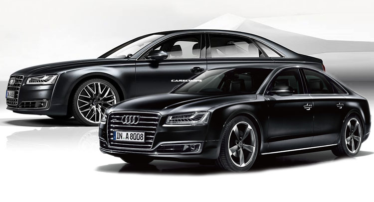 audi gives japan a8 l chauffeur and a8 sport special editions. Black Bedroom Furniture Sets. Home Design Ideas