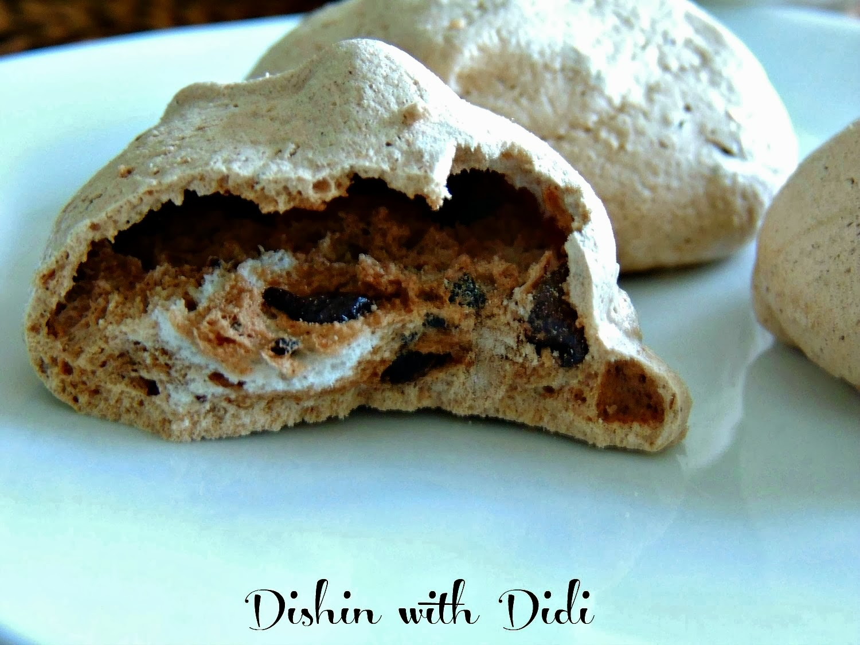 Dishin with Didi: Mocha Chip Meringue Cookies