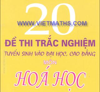 de thi thu dai hoc mon hoa 2013, de thi thu dh 2013 mon hoa