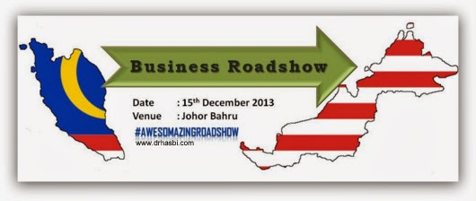 Business Preview in Awesomazing Roadshow at Johor Bahru