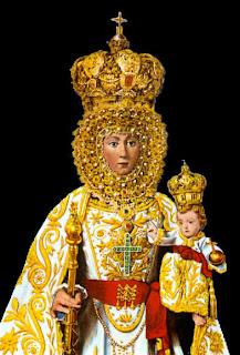 Virgen de la Fuensanta. Murcia.