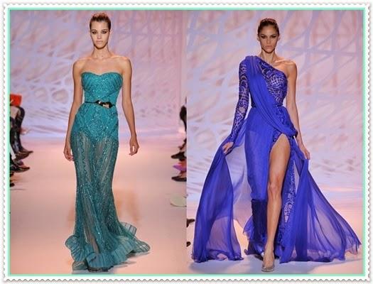 2014/15 Winter Haut Cauture Abendkleider von Zuhair Murad