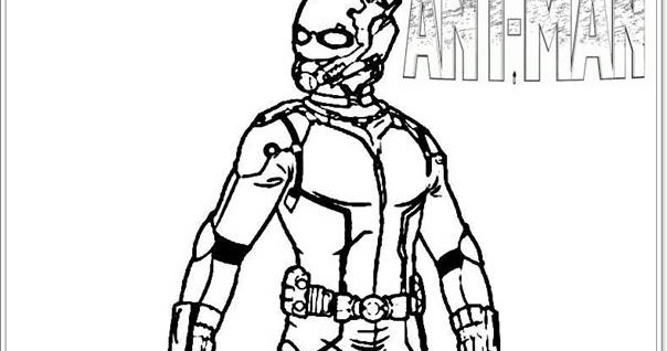 New Ant Man Movie Coloring Pages Coloring Coloring Pages