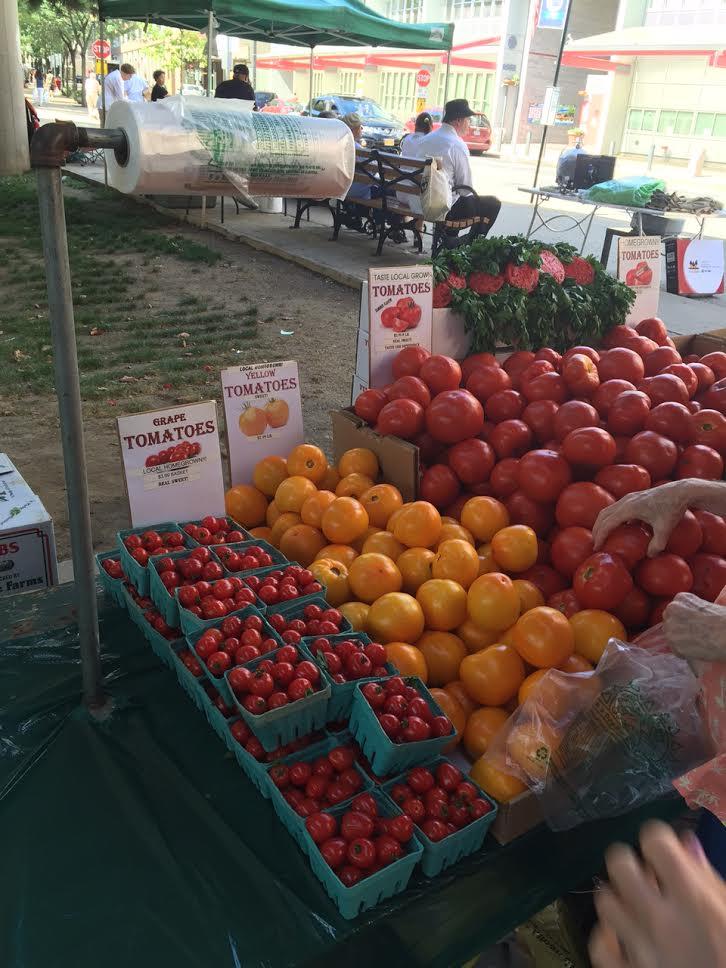 Roosevelt island farmers market