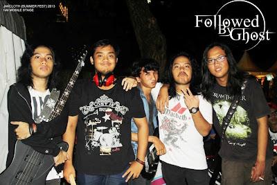 Followed By Ghost Band Metalcore Jakarta Foto Logo Wallpaper