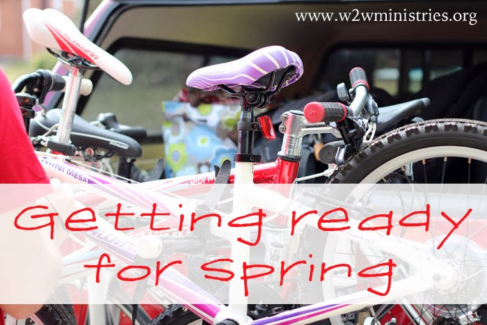 getting your family ready for spring - some tips to make sure you are prepared!