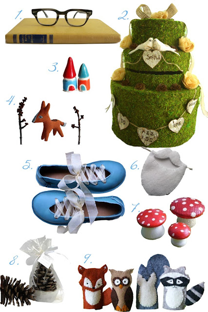 A Smurf Wedding Inspiration Board by Tricia @ SweeterThanSweets
