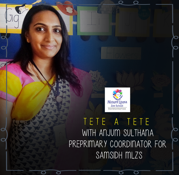 Samsidh Interview With Anjum Sulthana Preprimary Coordinator For