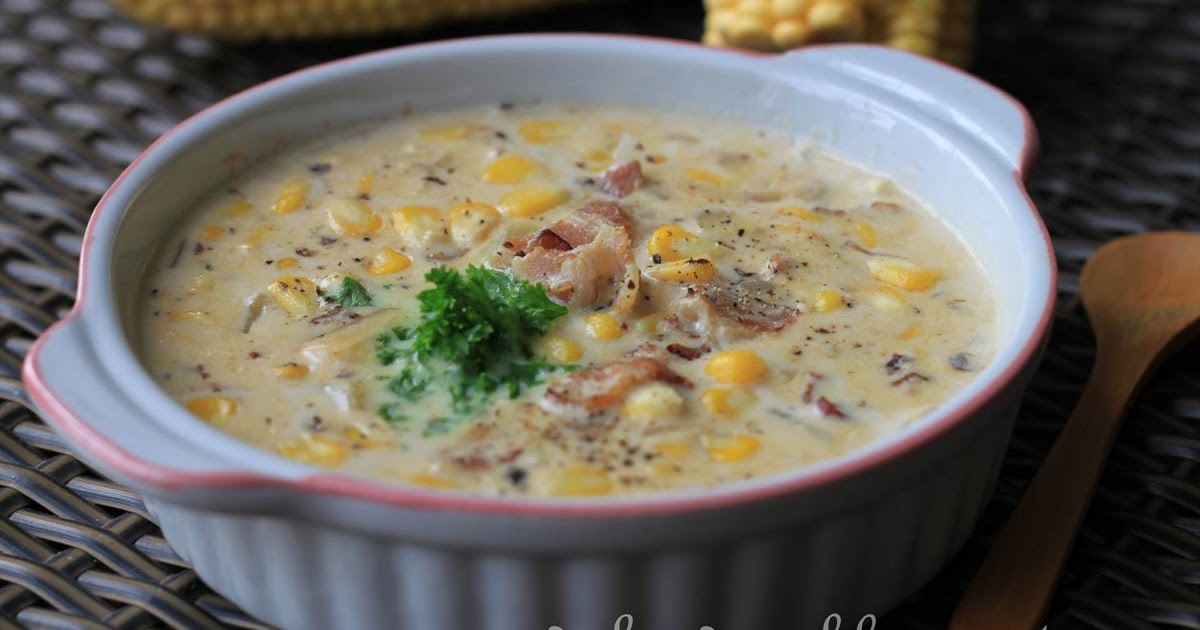 GoodyFoodies: Recipe: Corn, bacon and potato chowder (Curtis Stone)
