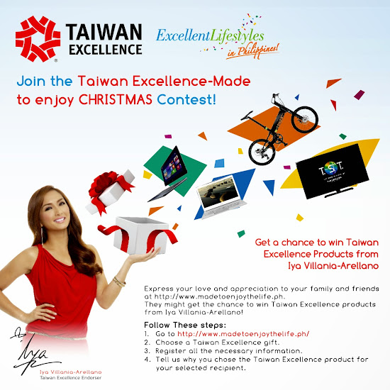 Iya Villania for Taiwan Excellence
