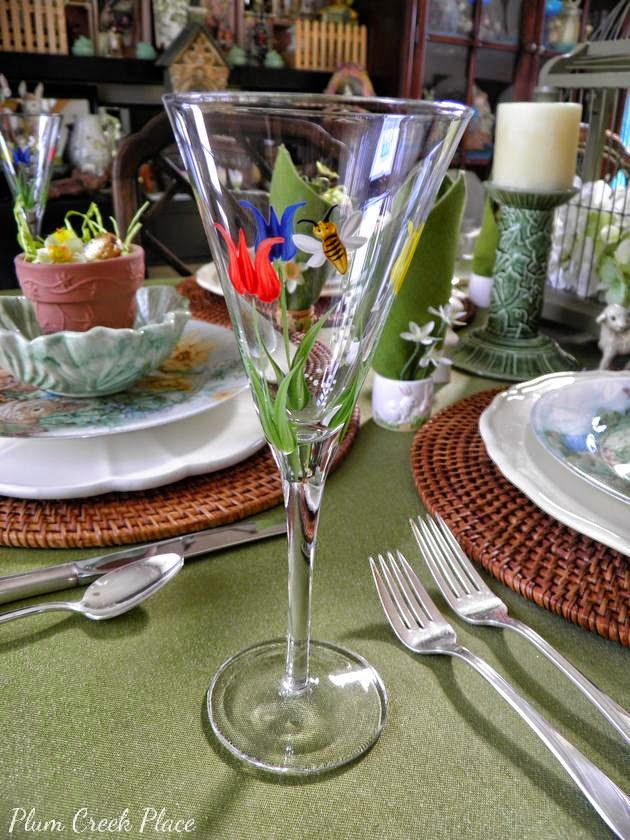 Easter - Spring Tablescape