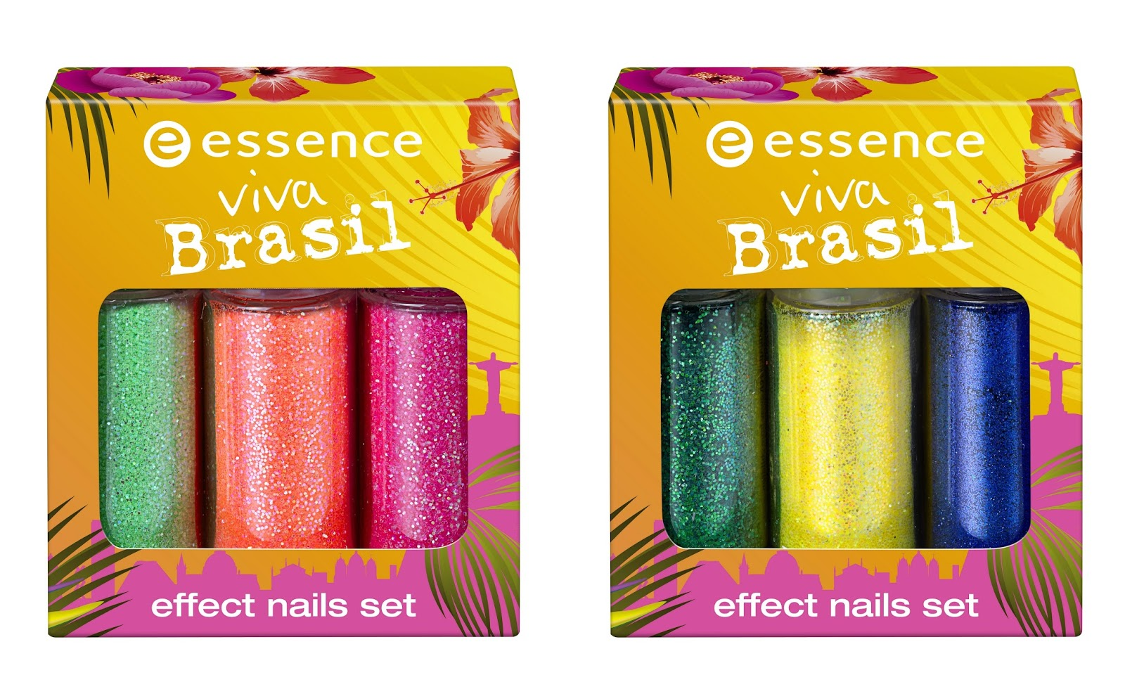 essence viva brasil – effect nails set
