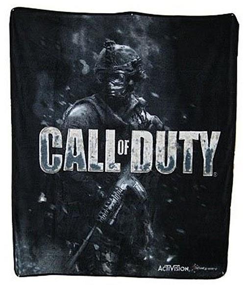 Discount comforter sets: Call of Duty Black Fleece Throw ...