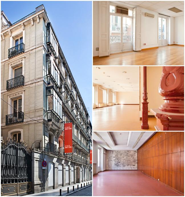 Antigua sede colegio oficial arquitectos Madrid, COAM
