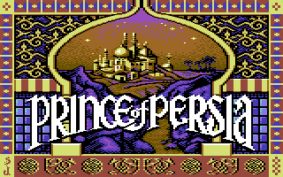 Prince of Persia para Commodore 64/128... alucino...