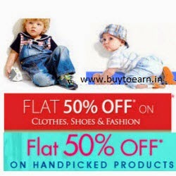 Baby & Kids products 50% off on Rs.300