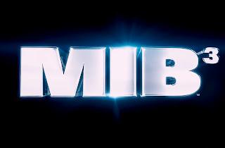 Men in Black 3 MIB 3 3D Logo HD Wallpaper