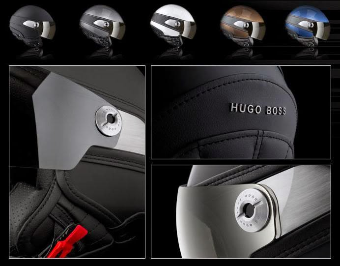 hugo boss motorcycle helmet