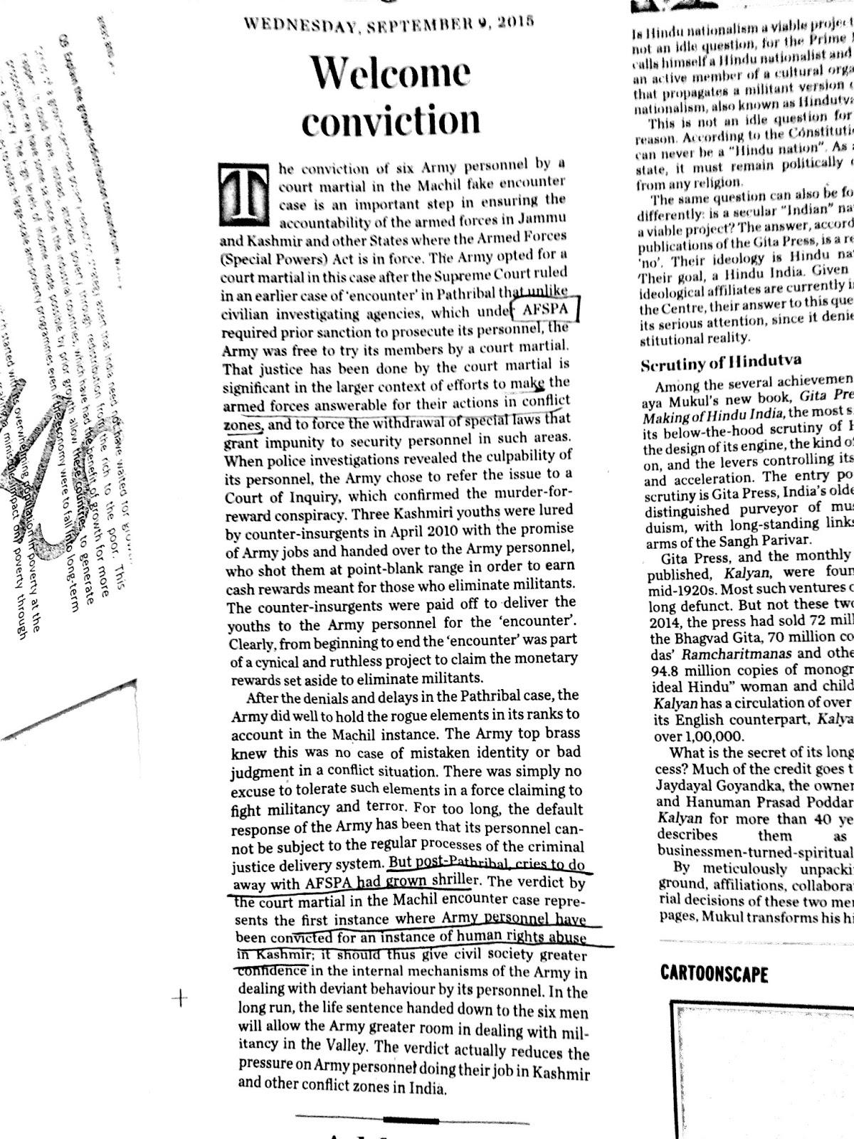 how to read newspaper for ias exam