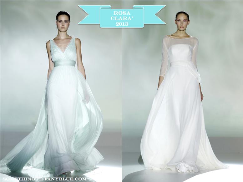 ABITI DA SPOSA 2013: ROSA CLARA - Something Tiffany Blue  Wedding ...
