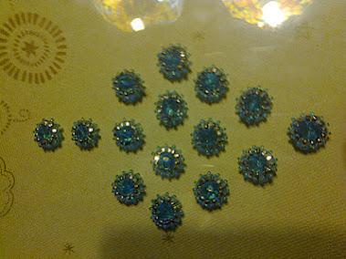 piezas para el conjunto azul