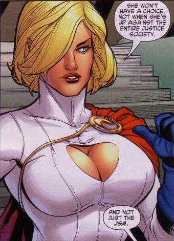 boobs Power girl