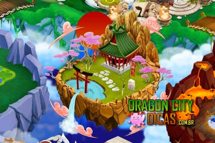 Ilha Japonesa no Dragon City