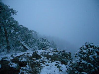 atalaya mountain winter snow