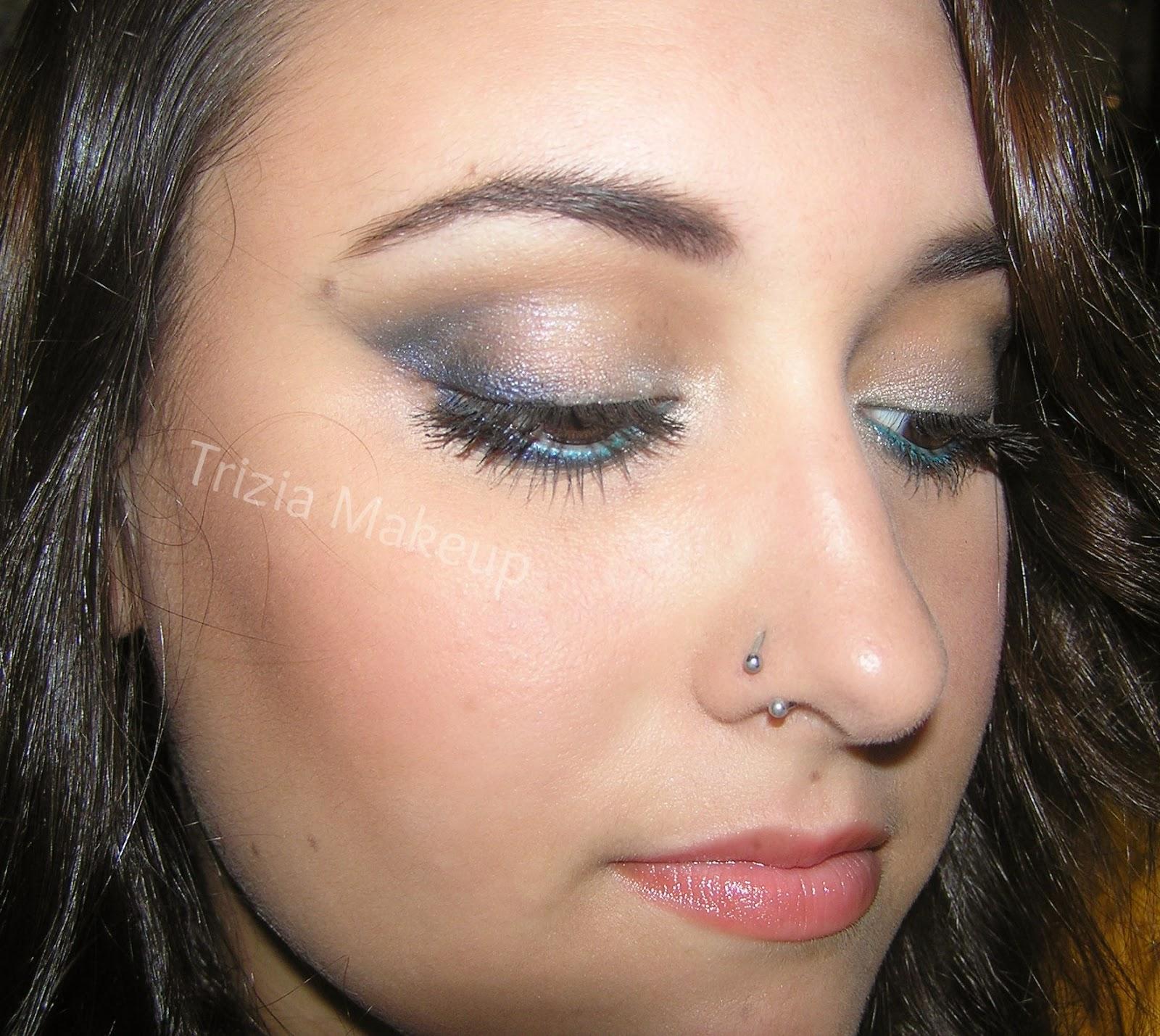 Patricia mar a maquillaje noche de verano en tonos azules - Tonos azules ...