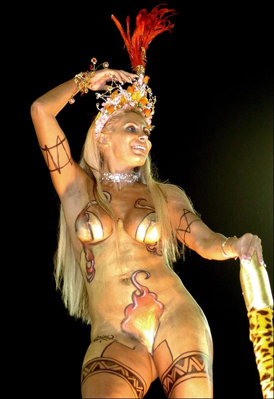 Carnival in Rio De Janeiro, Brazil Carnival beauty
